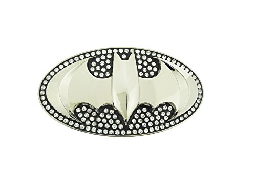Cool 3D Batman Belt Buckle With Rhinesones New!