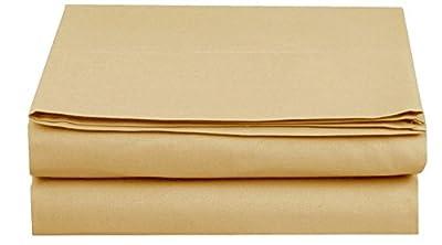 Lavish Linens Solid & Stripe 12 Inchto 30 Inch EXTRA DEEP POCKET - 1800 Series Microfiber FOUR (4) Piece Bed Sheet Set, Solid & Stripe