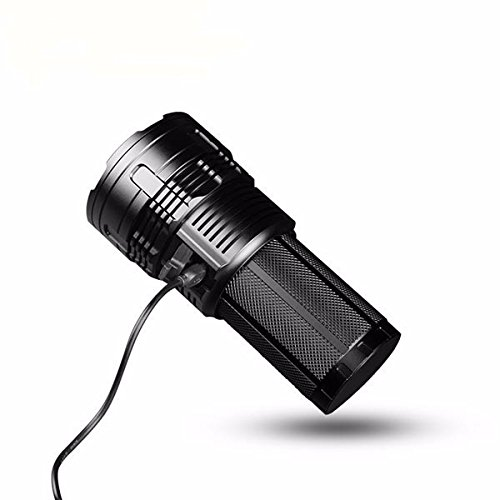 Super bright torch IMALENT DT35 Max. 8500LM 4 CREE XHP35 HI LEDs 1000 meter throw flashlight with 4pcs 18650 3000mAh batteries by IMALENT (Image #4)