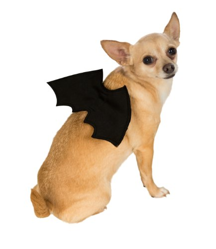 Rubie's Pet Costume Bat Wings, Small to