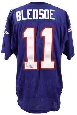 6b6056e8221 Drew Bledsoe Autographed Jersey - Patriots Pro Line JSA - Autographed NFL  Jerseys