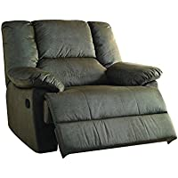 ACME Furniture 59416 Oliver Oversized Glider Recliner (Motion), Sage Corduroy