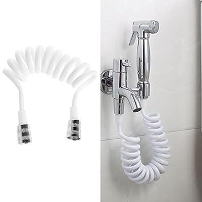 Kangnice Flexible Shower Hose for Water Plumbing Toilet Bidet Sprayer Telephone Line
