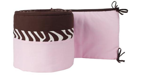 Pam Grace Creations - Protector de cuna Zara Zebra: Amazon.es: Bebé