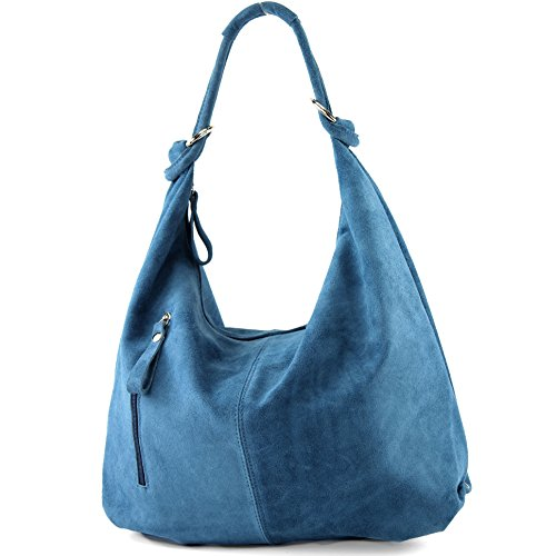 Large Bag de T158 ital Leather Hobo Bag modamoda Wild Blue Leather Leather Jeans Bag wSTqxvaCp