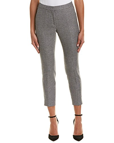 Reiss Womens Hampstead Wool-Blend Tailored Trouser, 4, (Tab Front Wool Trousers)