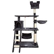 MCTECH 猫タワー キャットタワー キャットリビングタワー 猫用品 ...