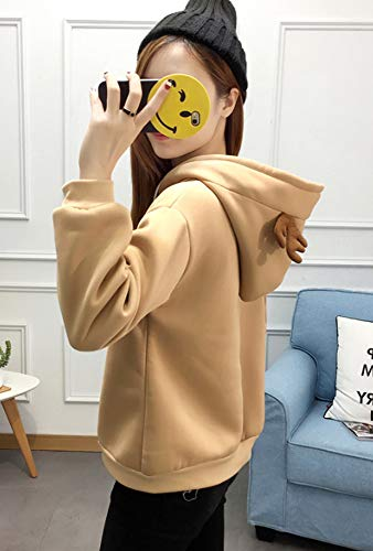 da8813812ed5 Amazon.com  Cosplay Ladies Anime Hoody Hoodie Ears Costume Raccoon Teddy Panda  Emo Bear T Shirt Top Shirt (Black)  Clothing