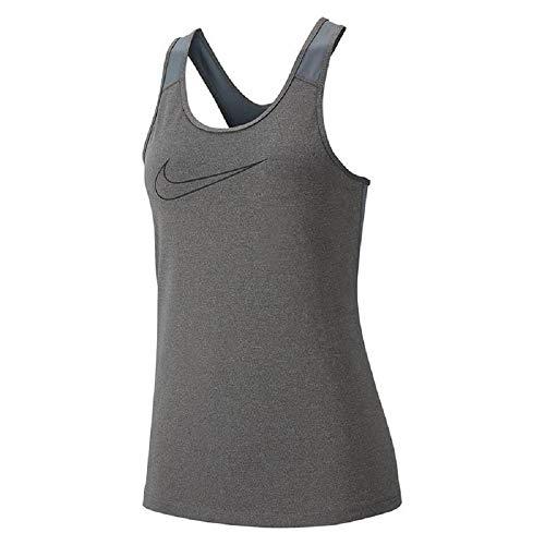 Carbon black Heather Tank Sport De Débardeur Femme Vcty Nike W Nk qvx68aaU