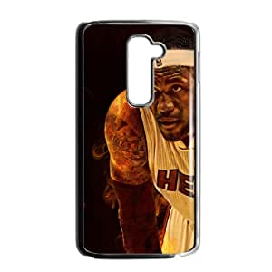 New Style Custom Picture lebron james miami heat Phone Case for LG G2