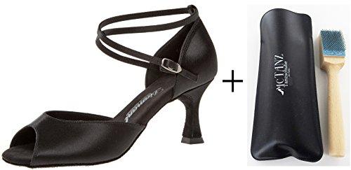 Diamante 017-087-091 Senhoras Que Dançam Sapatos Incl. Escova De Desbaste Mc-dança