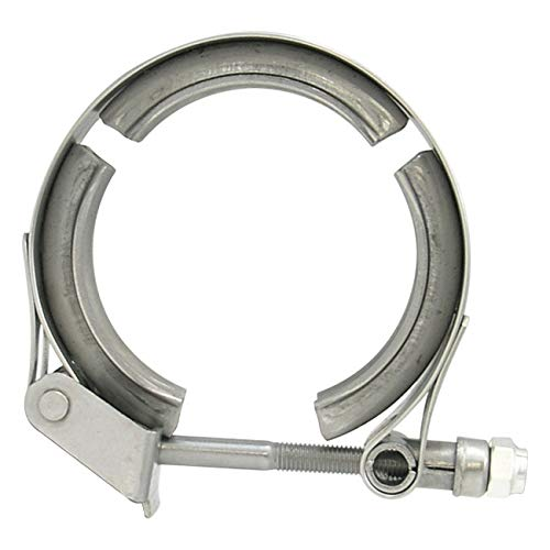 Verocious Motorsports Replacement V-Band Clamp, Stainless Steel - 1.75' Stainless Steel - 1.75