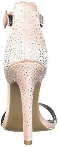 Qupid Women's Ines-06 Heeled Sandal Blush LKZbhLTz