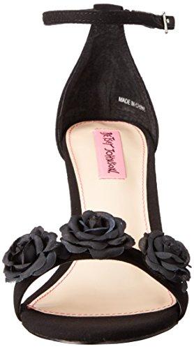 Betsey Johnson Women's Bromme Dress Sandal, Black Black
