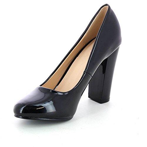 Mujer Material de de Sintético Zapatos Go Vestir negro Tendance qZAP0