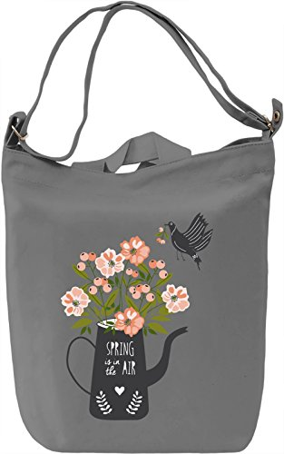 Spring is in the air Borsa Giornaliera Canvas Canvas Day Bag| 100% Premium Cotton Canvas| DTG Printing|