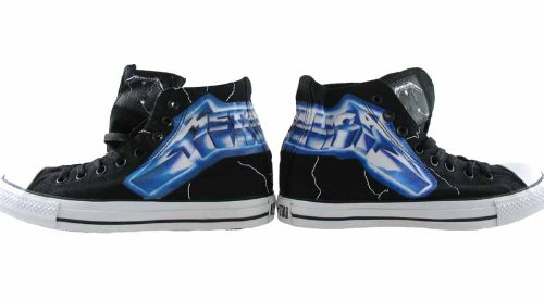 Star Edition LIMITED ride the lightning Sneaker Metallica Black Converse Chucks ALL CT gwzqU1