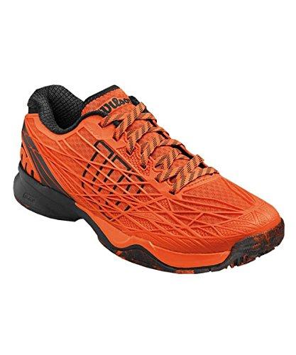 Wilson Wrs322370e085, Chaussures de Tennis Homme, Multicolore (Multicolor / Flame / Black / Black), 42 2/3 EU
