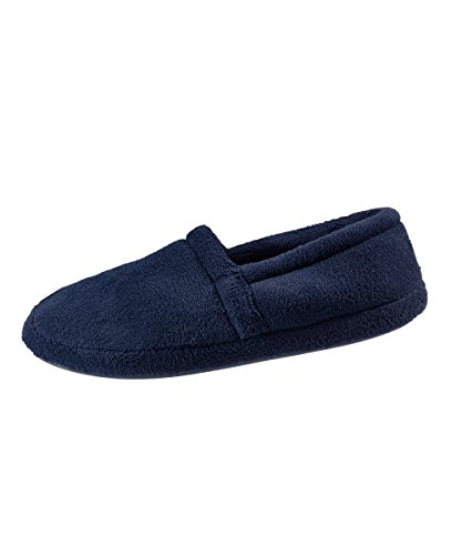 Best Wide Mens XL Terry Foam Slippers Slippers Slippers Mens – Most Memory Fleece Slippers Navy Comfort Mens Slippers With Bedroom Comfortable qgWxPpfwt