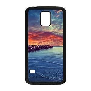 Diy Beautiful Landscapes Nature Phone Case for samsung galaxy s5 Black Shell Phone JFLIFE(TM) [Pattern-2] Kimberly Kurzendoerfer