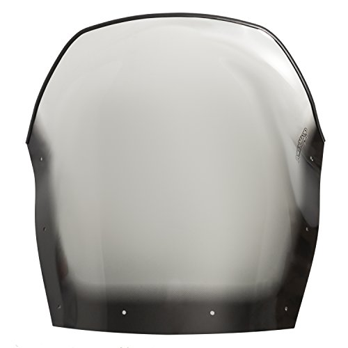 PowerMadd 13042 Cobra Windshield for Ski Doo Rev Fairing Mount -  Tinted with black edge - Tall height