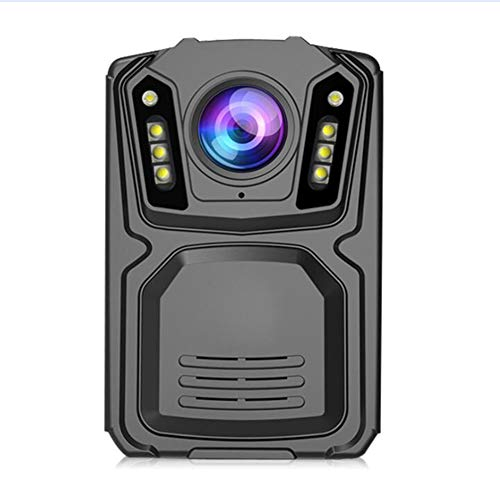 AKAKKSKY Police Body Worn Camera 1080P HD 120° Wide Angle Android System Support 4G 2.0 Inch Display Double Lens Infrared Night Vision GPS Support