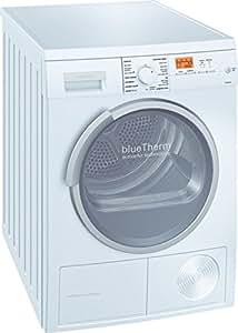 Siemens WT46W570EE Independiente Carga frontal 7kg Color blanco - Secadora (Independiente, Carga frontal, Color blanco, LCD, 220 - 240 V, 50/60 Hz)