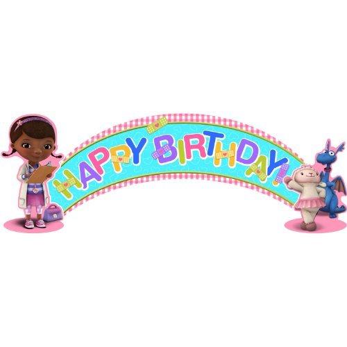 Hallmark Doc McStuffins Birthday Banner (5ft)]()