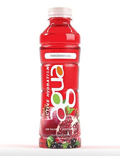 Agua-Active-Hydration-Pomegranate-Acai-Natural-Caffeine-Low-Calorie-Electrolytes-20oz-Bottle-12-Bottles