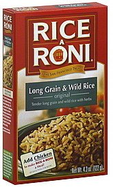 Rice A Roni, Long Grain & Wild Rice, 4.3oz Box (Pack of 6) by Rice-A-Roni