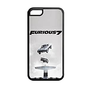 Generic For Apple 5C Iphone Print With Fast Furious 7 Gel Unique Phone Case For Guys Choose Design 5
