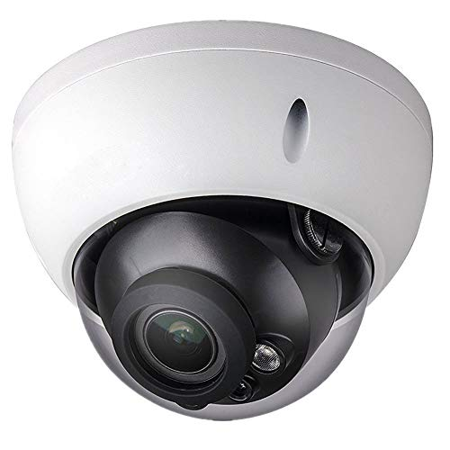 Dahua 4MP POE Dome Camera IPC-HDBW4433R-ZS 2.7-13.5mm Motorized Varifocal Lens H265 IP67 Outdoor Onvif Security Surveillance Network Camera International Version