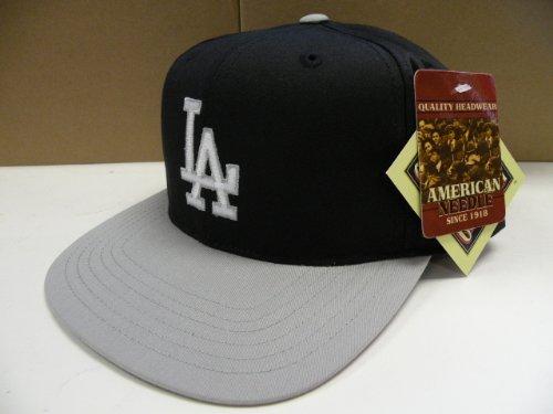 MLB Los Angeles Dodgers Retro Black 2 Tone Snapback Cap Raiders