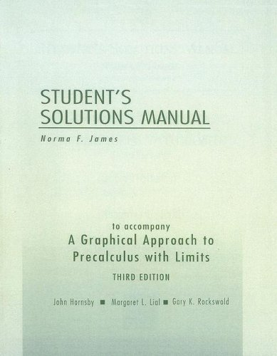 Download A Graphical Approach to Precalculus with Limits Students