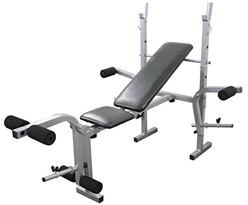 Weight Training Bench Adjustable Multi Gym Folding Fitness Bench With Chest  And Leg Exercise: Amazon.co.uk: Sports U0026 Outdoors