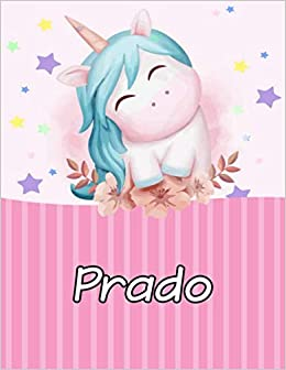 When Is Christmas On The Prado 2020 Amazon.com: Prado: Personalized Unicorn Journal For Girls   Cute
