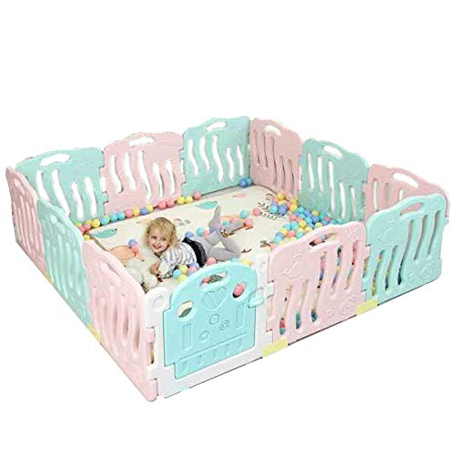 Toytexx 2M x 2M x 0.6M Baby Kid Playpen Panel Activity Center Safety Fence Playyard