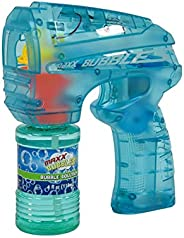 Sunny Days Entertainment Bubble Blaster with Light – LED Bubble Blower Toy | Summer Fun, Outdoor Birthday Part