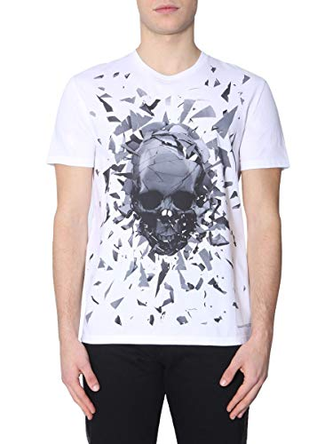 T Coton Blanc Alexander shirt Mcqueen Homme 551779qmz730900 4wgnqxxTXz