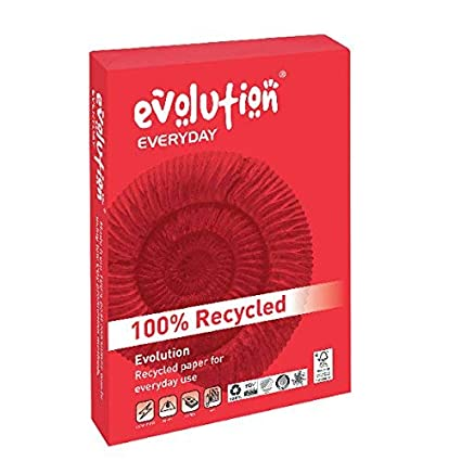 Evolutio Everyday - Paquete de 500 hojas de papel A3 para fotocopiadoras, blanco