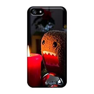 Cute Appearance Cover/tpu Domo Candle Case For Iphone 5/5s Rosesea Personalized Cellphone