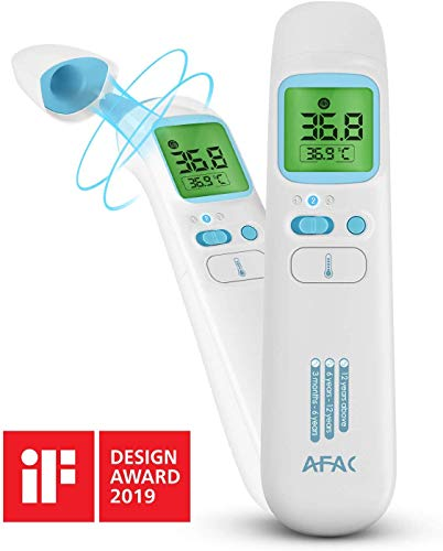 🥇 AFAC Termometro Infrarrojos Digital Adultos