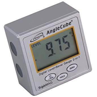 iGaging AngleCube Digital Level +  Bevel Gauge 2 in 1