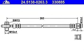 ATE 24.5237-0308.3 Bremsschlauch