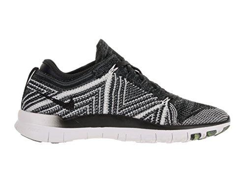Nike Damen Wmns Free TR Flyknit Turnschuhe Black (Schwarz / Schwarz-Weiß-Volt)