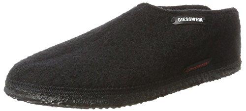 Giesswein Heren Tönning Wollen Sandalen Zwart