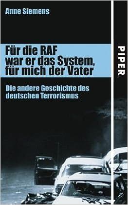 Book Für die RAF war er das System, für mich der Vater