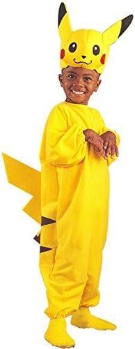 Amazon.com: Disfraz de Pikachu Pokemon para niños (tamaño ...