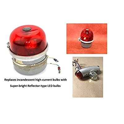 WHELEN ROTATING BEACON BAY15S - RA7512 W1290 LED REPLACEMENT 10-40VDC -BAY15s: Automotive