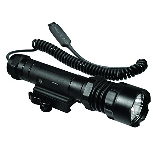(UTG 200lumen Combat LED Light,37mm Head,Handheld or QD Mount)